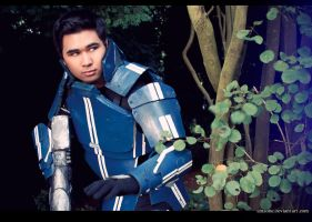Kaidan Alenko Mass Effect Cosplay: Scouting by ManticoreEX