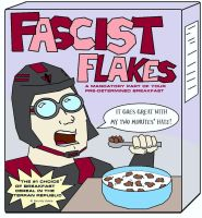 Terran Republic Brand Fascist Flakes Cereal by ElProtection