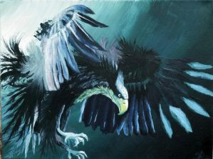 Majestic Eagle by DivinoArtista
