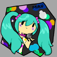 Chibi kid Miku:animation by JellyMonstah