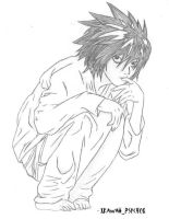 L. Lawliet by xKawaii-Psych0x