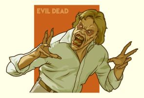 Evil Ed from Evil Dead 2 by Cloxboy