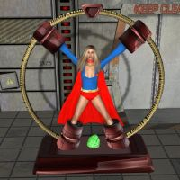 Supergirl captured by cattle6