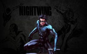 Nightwing Wallpaper: Stud by Miggsy