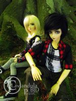 Kim and Taylor by Lavandula-BJD