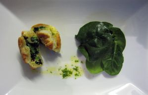 LIL'PIE MUSHROOMS/ BABY SPINACH by Drac0ntias