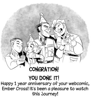 Congrats Ember Cross by ThirdPotato