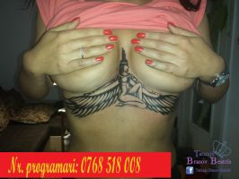 Rihanna boobs tattoo  By Tatuaje Brasov Beatris by tatuajebrasov