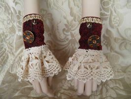 Steampunk-Victorian cuffs-PCCC14 by JanuaryGuest