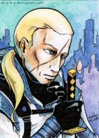 ACEO Johnathan Wren by m-u-h-a