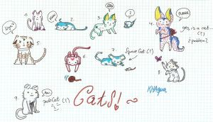 Adoptables 2. The most cutest Cats by KHAqua