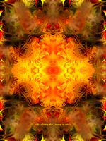 Abstract Fractal  1-10-2011 by Hillbillygirl