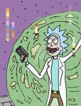 Rick Sanchez WIP by marvelouslabs