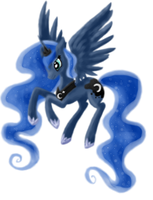 Princess Luna by abcccj