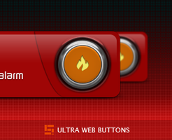 Ultra Hot Buttons by Solidinkdesign