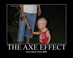 Poster - THE AXE EFFECT by E-n-S