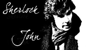 Sherlock and John Wallpaper by Nero749