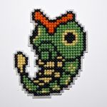 Caterpie by behindthesofa