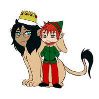 AA::SS::Kyra-Wolf::Just a Pair of Misfits by pineapple-tiger