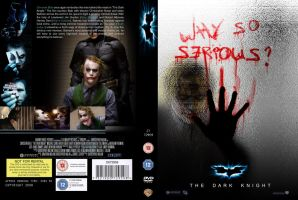 The Dark Knight DVD Cover by taghi
