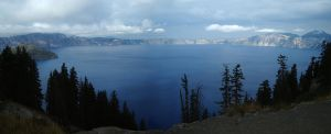Crater Lake by 0g0p0g0