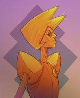 Yellow Diamond by Ghotire