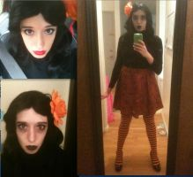 Halloween themed costume by CheesyHipster