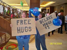 FREE HUGS ARE BETTER by Angelicstubborness