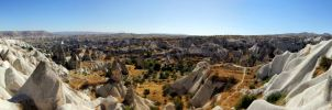 Panorama of Capadocia by Opareq