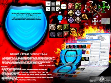 W3IR v1.3.2 promotional design by blackdoom