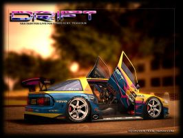 Drift Kat - Feature car by 4M0RPH0US-831NGS