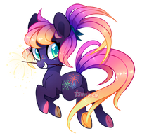 MLP Adoptable Auction - Sparkler (CLOSED) by tsurime