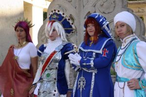 Trinity Blood team by hbdudu