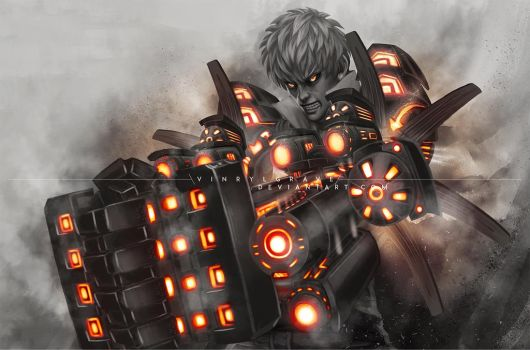 STREET FIGHTER V INCLUDE GENOS by vinrylgrave