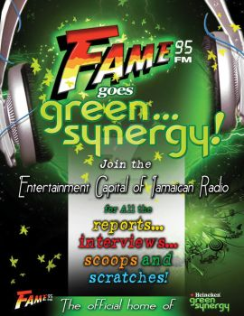 FAME GOES GREEN by simplygraphix