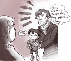 SH:John srsly he solves crime by Puffintalk