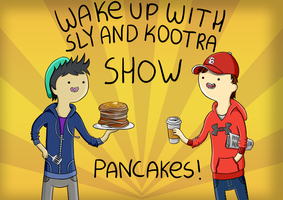 Wake up with Sly and Kootra by CoralinePeach