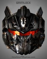 Grimlock Head Design by timshinn73