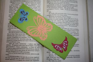 Butterflies bookmark II by Kusu-dama
