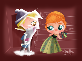 Anna and Kristoff by ALBY-LePetiteDreamer