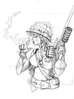 .:Tank Girl:. by teflonmonkey