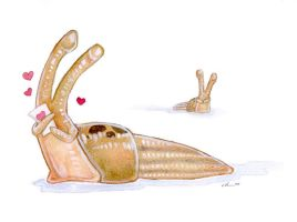 Slugs in Love 2 by ursulav