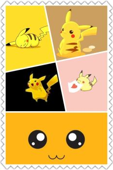 Pikachu Collage by This1999