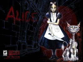 Muh Alice Desktop.. by 0Cheshire0