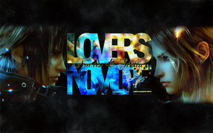 Noctis and Stella: Wallpaper by areopoli