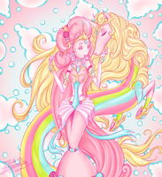 Queen Bubblegum by DivaSaorin