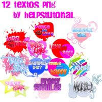 Textos png by helpstutorial