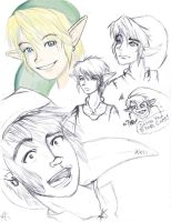 Some Link Sketches by Silver-the-kid