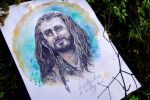 Thorin, gazing up into the sky by The-girl-in-Mirkwood