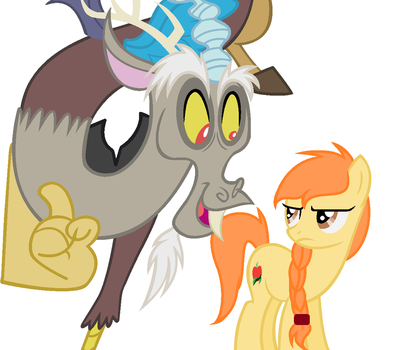 Natural Apple and Discord by AyeitsArtsy11